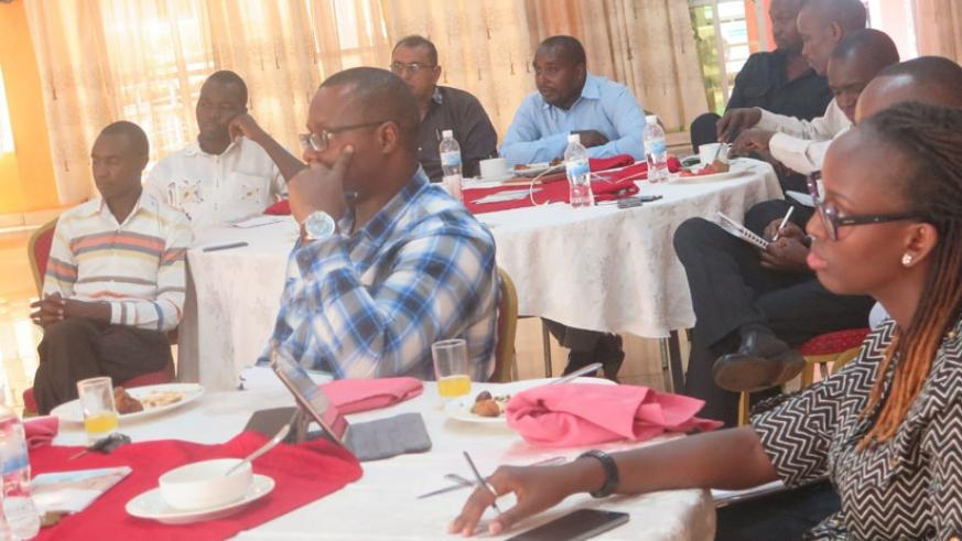 Some of the suppliers at the conference. They were challenged ensure good business practices. (Jean Mugabo)