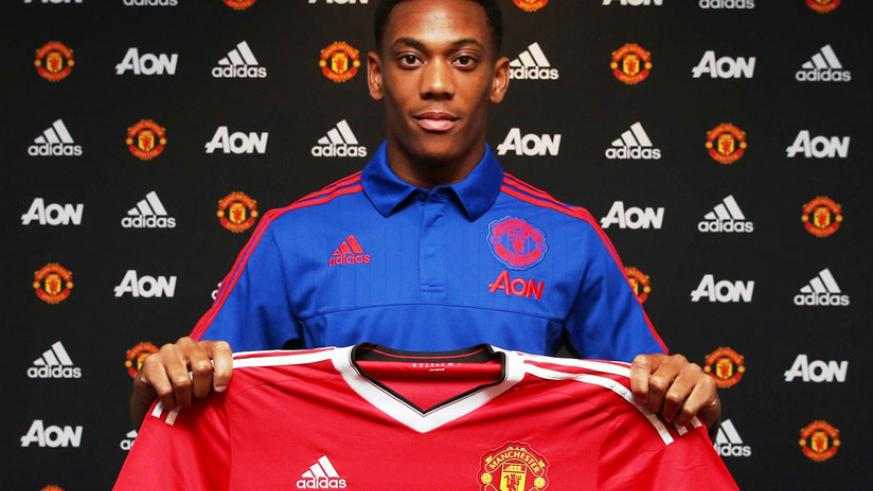 Manchester United confirmed the signing of Anthony Martial from Monaco on a four-year deal. (Internet photo)