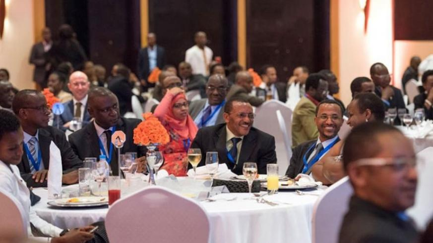 Participants at the inaugural Meles Zenawi symposium on democratic developmental states in Kigali last month. (Courtesy)
