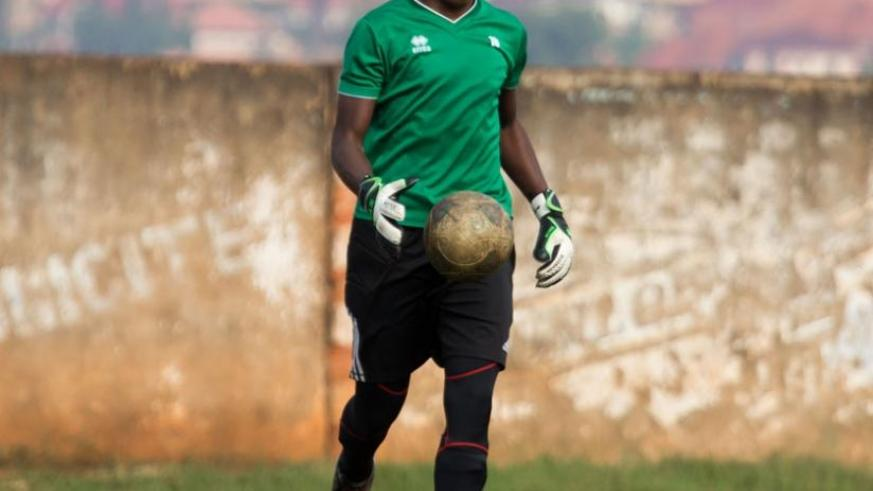 Goalkeeper Bonheur Hategekimana and Savio Dominique Nshuti are the two players at the centre of controversy. (T. Kisambira)