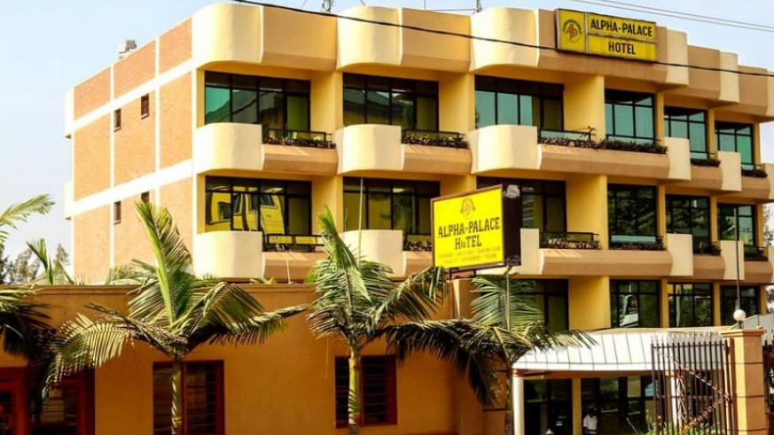 Alpha Palace Hotel in Remera, Kigali, which is valued at Rwf2 billion, is currently battling a credit facility of Rwf500 million from Bank of Kigali. (Doreen Umutesi)