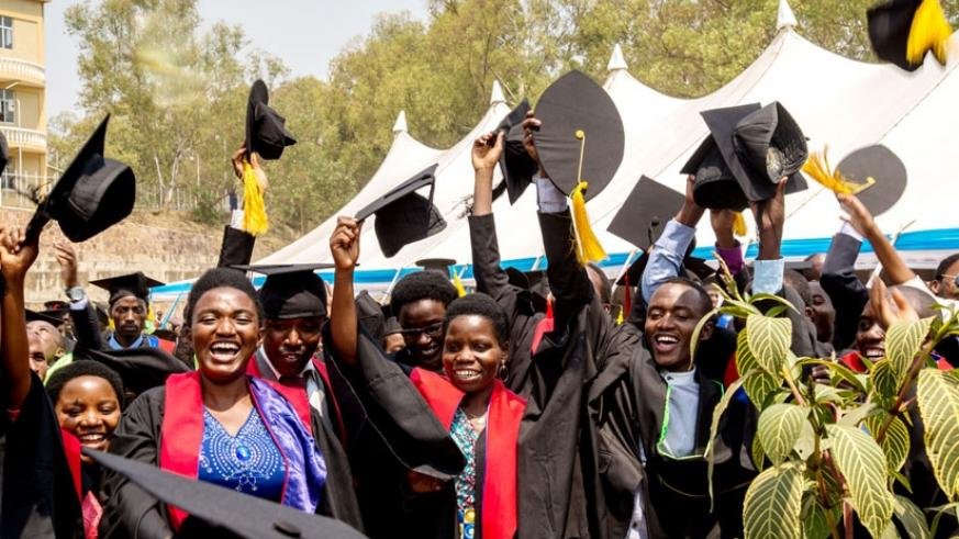 Graduates celebrate. The government has been urged to write off untraceable student loan defaulters. ( File)