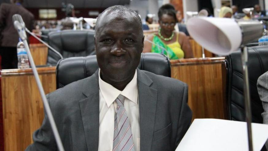 MP Alfred Kayiranga Rwasa, the chairperson of the parliamentary Standing Committee  on Political Affairs and Gender (Courtesy)
