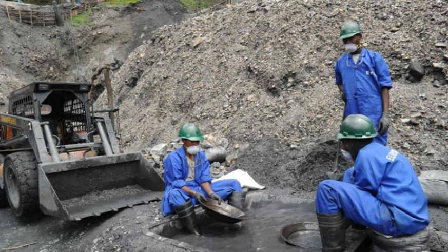 Miners have been urged to stock minerals as prices on the international market are expected to rise. (File)