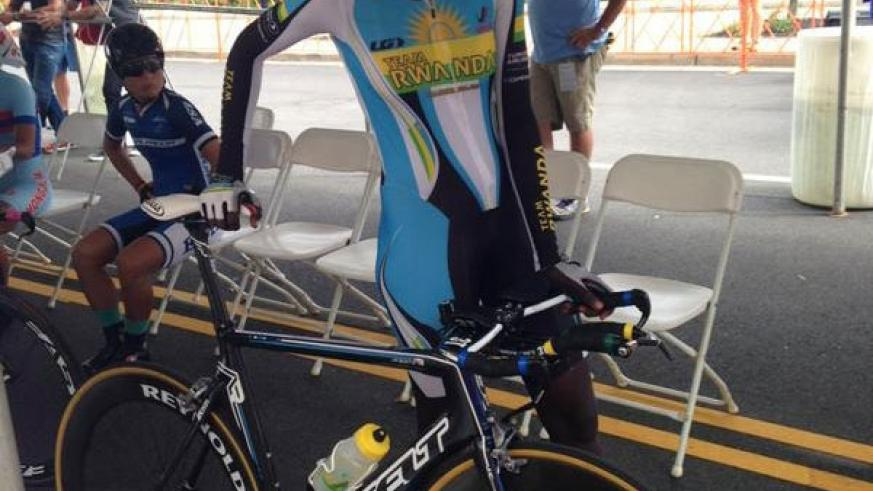 Team Rwanda cyclist Jeanne d'Arc Girubuntu became the first female Black African to compete at the World Championships. (Courtesy)