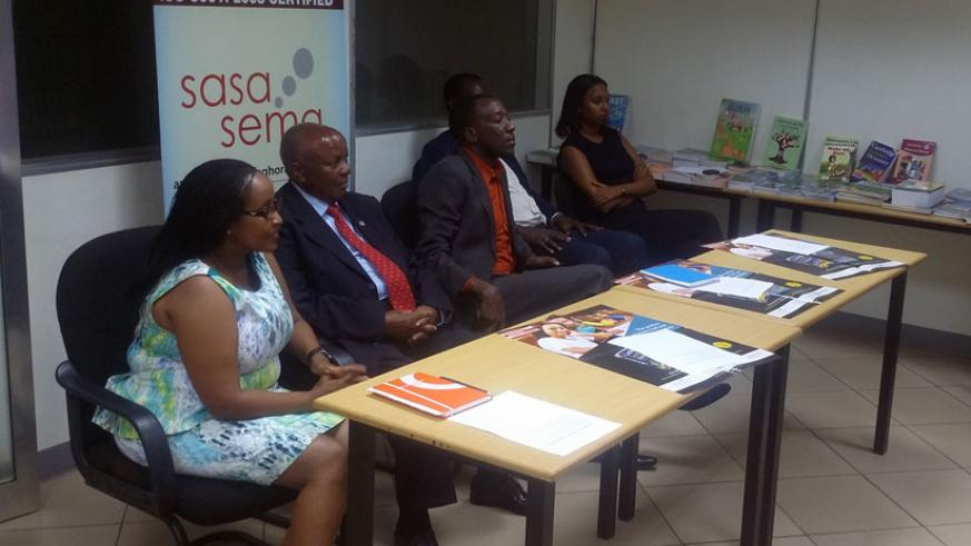 The chairman Longhorn LTD (second left) and other officials at the event.