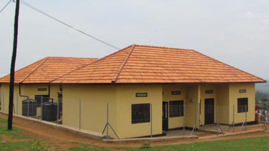 One of the housing units given to vulnerable residents in Kicukiro district. (File)