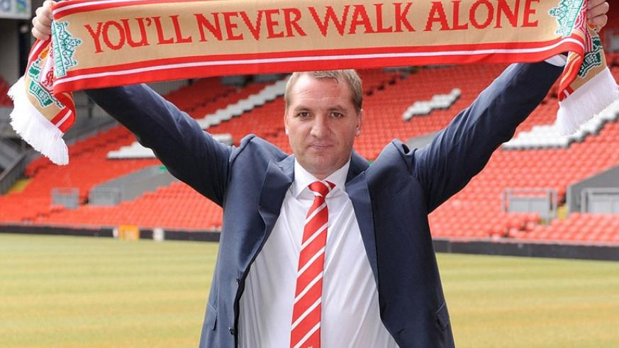 Rodgers was appointed Liverpool manager back in 2012 and did enjoy a modicum of success although leaves trophyless. (Internet photo)