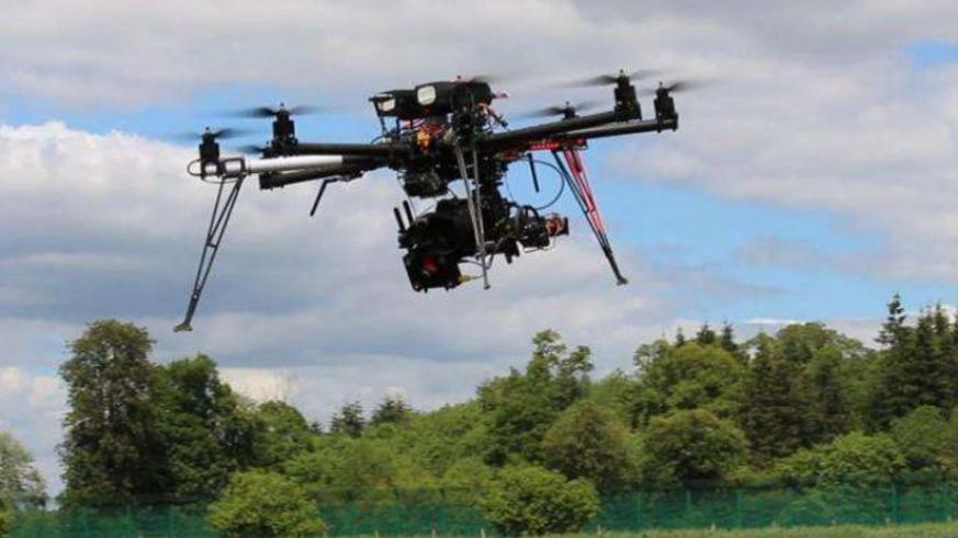 Drone technology is now used for various functions, including photography as in this picture. (File)