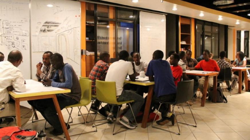 Guests coming for the Transform Africa summit can visit Klab, a place renown for  providing an open space for IT entrepreneurs to collaborate and innovate in Kigali. (File)