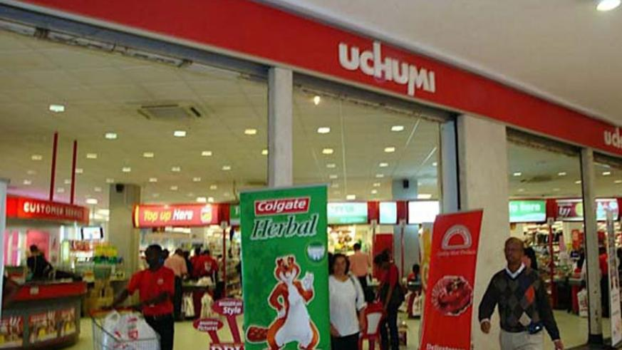 Uchumi supermarket  is supposed to have opened two stores within Rwanda in the last two months. (Net)