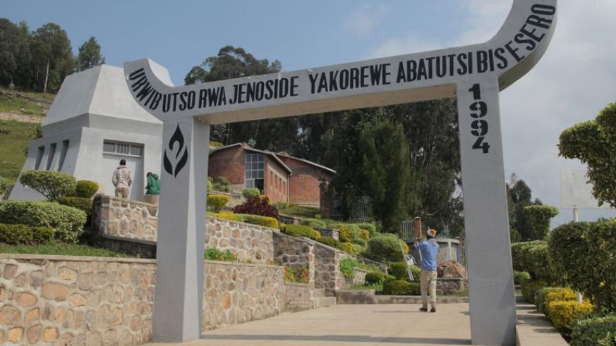 Bisesero Genocide Memorial Centre in the Western Province. (Faustin Niyigena)