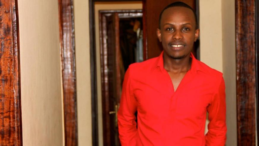 Clement Ishimwe owns KINA Music which manages several top musicians in the country. (Timothy Kisambira)