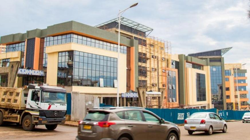 The $30-million business complex in the Central Business District  is expected to be opened in December. It is projected to accommodate over 1,500 tenants. (Doreen Umutesi)