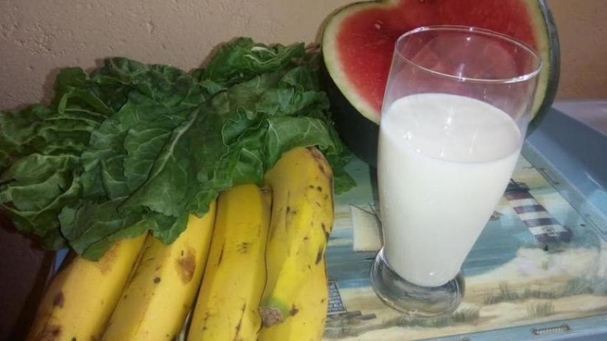 Fruits, vegetables and milk are good to consume before going to bed. (Lydia Atieno)