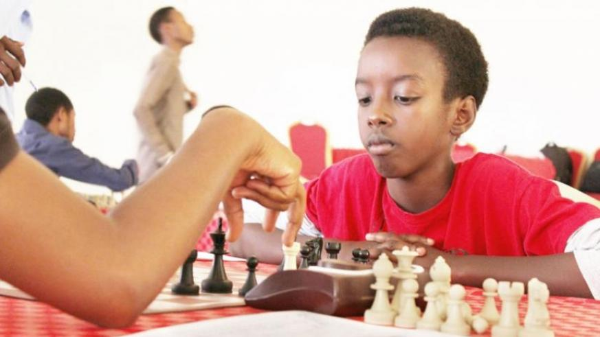 Ian Murara (R) in a past competition. The teenager is considered one of the country's promising stars. (Courtesy)