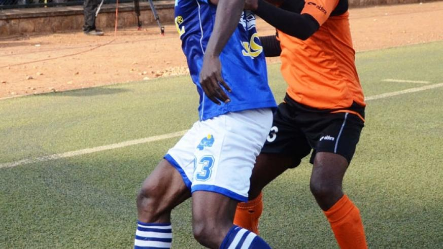 Burundian midfielder Pierrot Kwizera is one of Rayon Sports' most influential players and will be key to their ambitions for the season. (File)