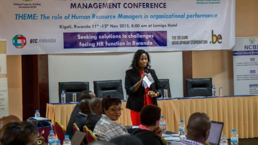 HR expert Jessie Kalisa tips on how to be a great HR manager. (Doreen Umutesi)