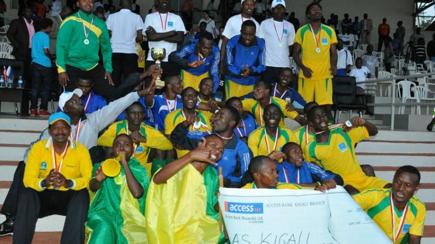 The 2013 Peace Cup winners, AS Kigali also won the Super Cup in  after beating Rayon Sports, who had won the league that season. (Timothy Kisambira)