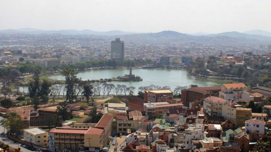 The country's capital, Antananarivo, is a bustling hub with a strong French influence. A main feature is Lac Anosy, an artificial lake near the centre of town. (Heinonlein/Wikimedia)