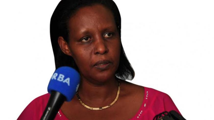 Oda Gasinzigwa, Minister of Gender and Family Promotion.