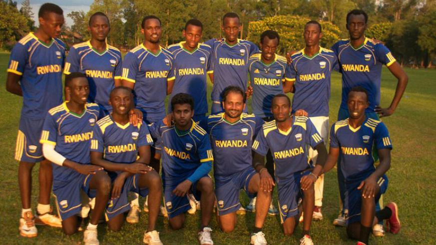 Rwanda men's national cricket team will play two warm-up matches against visiting Ugandan club KICC this weekend. (Courtesy)
