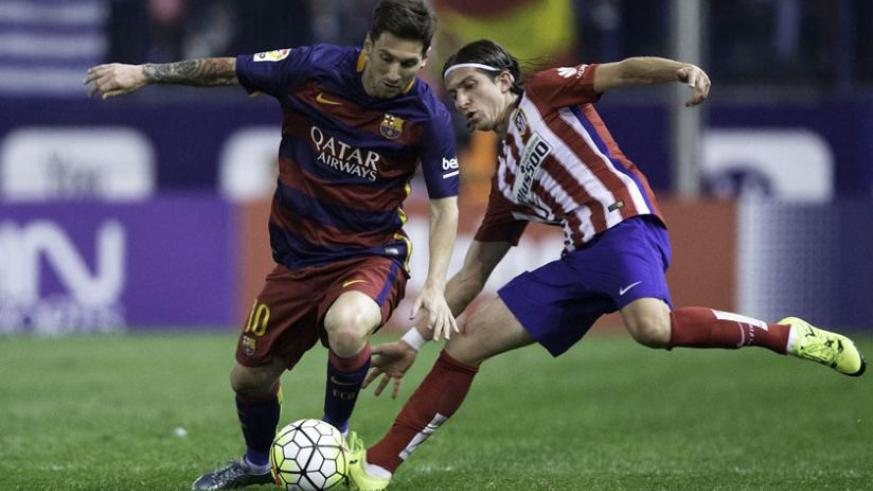 Atletico Madrid knocked Spanish rivals Barcelona out of the Champions League with a 2-1 aggregate win at the same stage in 2014. (Net photo)