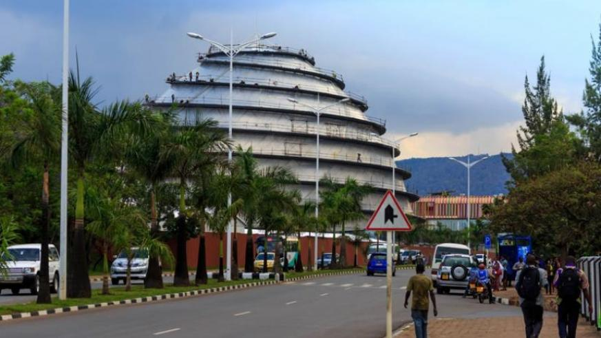 The long awaited Kigali Convention Centre will be completed in June 2016. (File)
