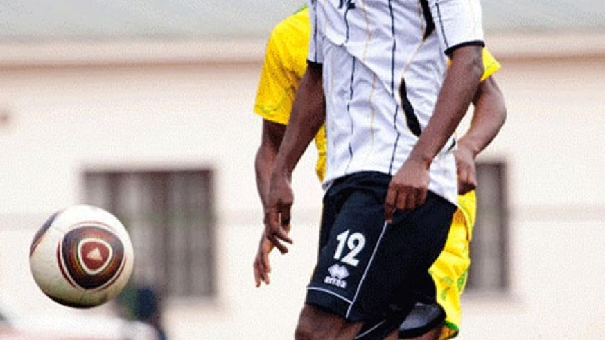Iranzi gave APR an early lead against AS Kigali in the 3-1 league win on Wednesday. (File)