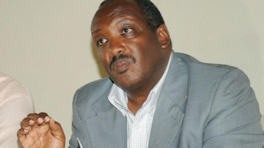 Prof. Dusingizemungu, speaks during the interview with The New Times. (File)