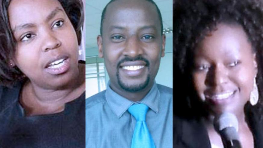 The incubator is a joint private venture founded by (L-R) Umutesi, Butera, and Baganizi. (Courtesy)