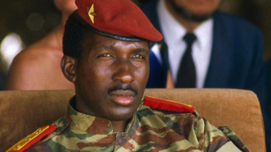 Thomas Sankara. (Net photo)