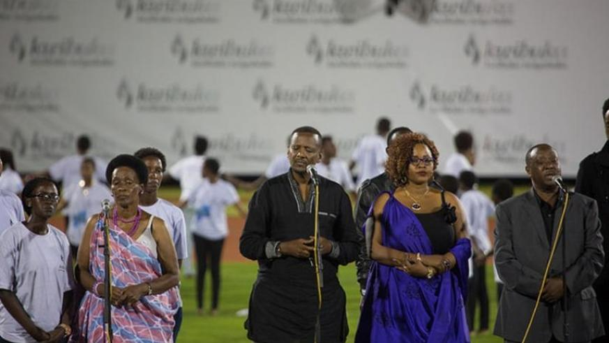 Artistes have been actively involved in commemoration events over the last seven days. (File)