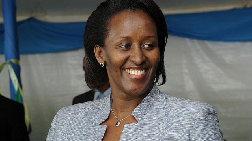 First Lady, Jeannette Kagame (Courtesy)
