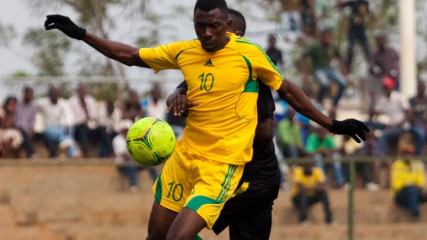 Former AS Kigali striker Bodo Ndikumana scored the only goal as Etincelles stunned APR 1-0 in the national league on Friday. (File)