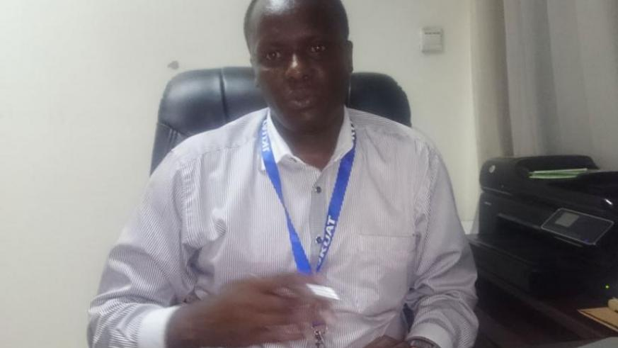Dr Cheruiyot in an interview with The Education Times. (Solomon Asaba)