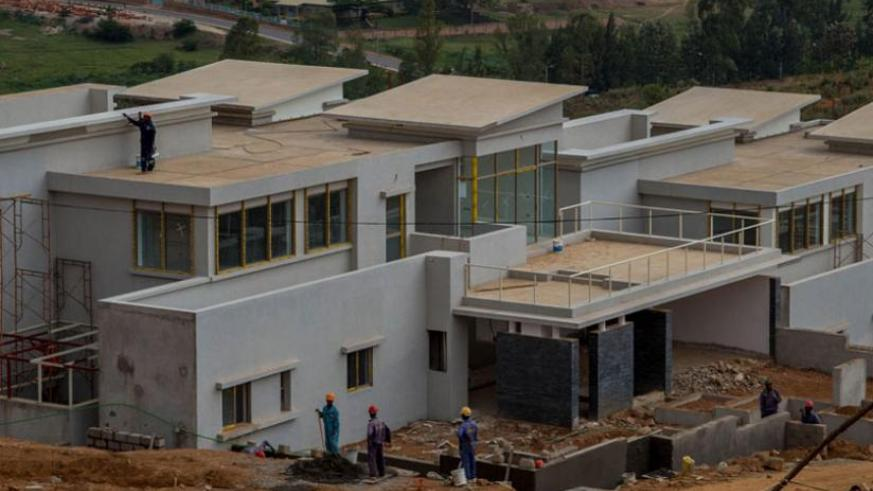 Some of the houses at Vision city 2020 housing project that will have facilities like hotels, shopping malls, health centres, sports arenas and educational facilities. (File)