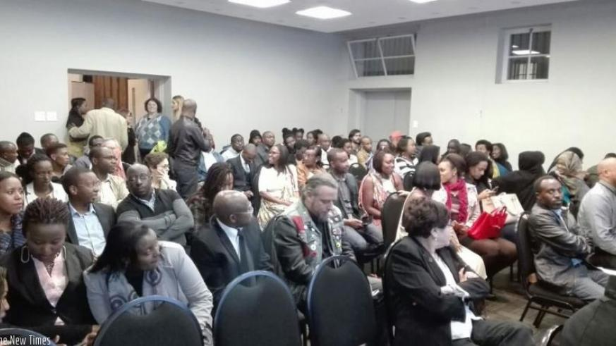 The event brought together Rwandans and friends living within and around Johannesburg. (courtesy)