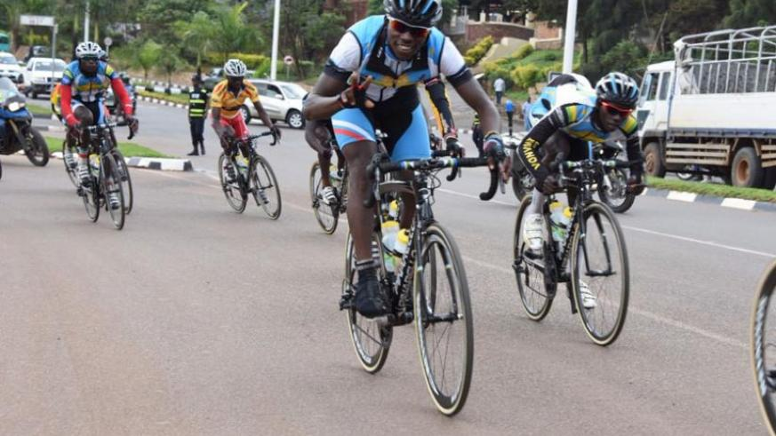 Joseph Areruya was fourth overall and second in U23 category after stage 2 of Tour of Eritrea (Courtesy)