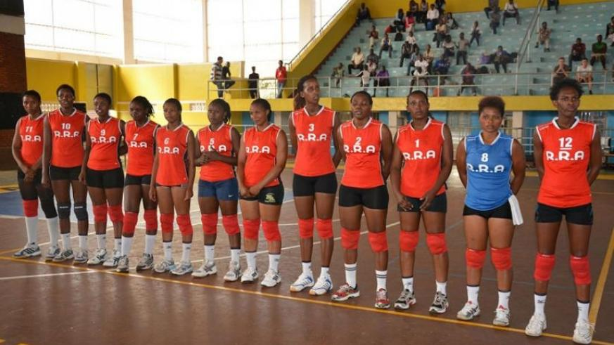 Rwanda Revenue Authority Volleyball Club is already in Tunisia to take part in the African Club Championship. (Courtesy)