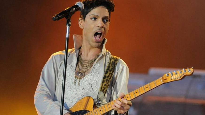 Prince (pictured in 2014) has died aged 57 at his estate in Minnesota, just days after he was rushed to hospital from his private plane with severe flu