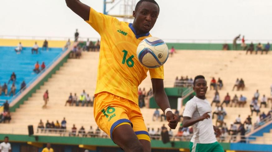 Rwanda international Ernest Sugira is expecting to leave AS Kigali at the end of the season. (File)