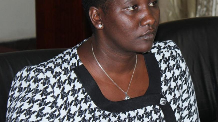 Minister Julienne Uwacu urged all national sports federations should shift focus to grassroots and youth development program. (J. Muhinde)