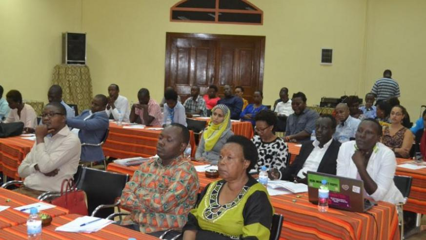 The meeting in Kigali brought together participants from across the region. (Julius Bizimungu)