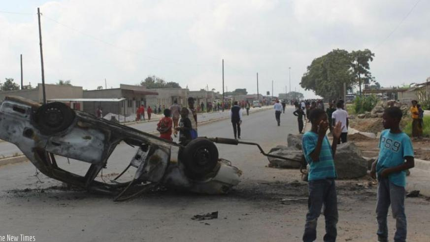 Anti-immigrant riots spread across Zambia's capital of Lusaka last week. (File)