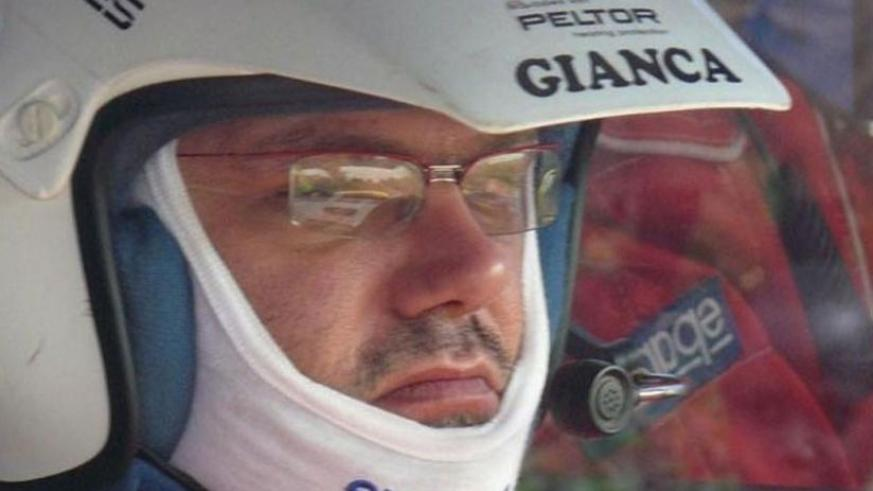 Reigning national rally champion Giancarlo Davite. (File)