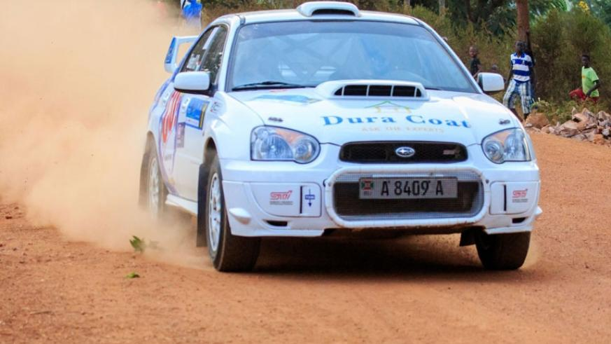 Burundian Valery Bukera is one of the foreign drivers expected to compete in the Bugesera One Sprint Rally. (File)