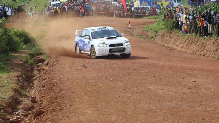 The 2015 National Rally Championship winner, Roshanali Mohamed Abbas, will be hot favourite to win the 1st Sprint Rally in Bugesera. (File)