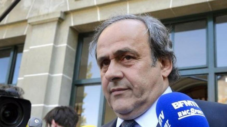 Platini will resign from European football's governing body (Net photo)