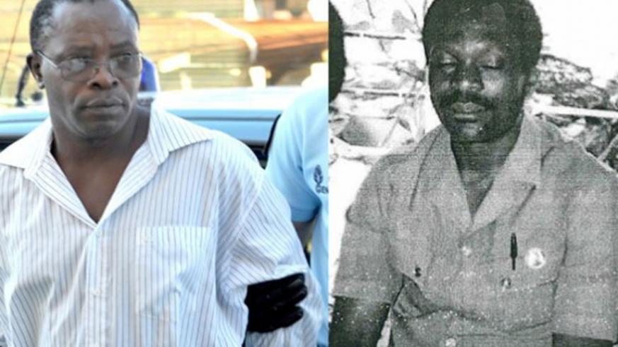Ngenzi (L) and Barahira go on trial today in Paris. (Net photo)